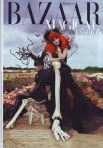 Harper's Bazaar October 2009 Magical Fashion Tim Burton Cover Photographed by Tim Walker