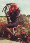 Harper's Bazaar October 2009 Photographed by Tim Walker Tim Burton Shoot