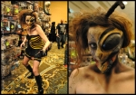 Katie Bearden Zom-Bee Cosplay at MMP 2014 TYOH SG