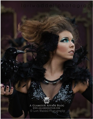 Raven Costume by A Glamour Affair Blog