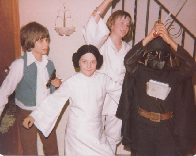 Star Wars Halloween 1977 by Michael Murray (mcmCPH) via i09