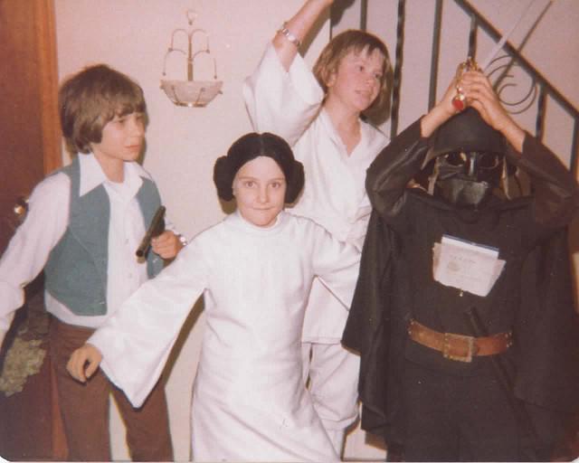 Star Wars Halloween 1977 by Michael Murray (mcmCPH) via i09