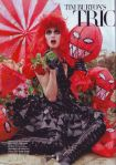Versache and Louis Vuitton for Harper's Bazaar October 2009 Photographed by Tim Walker Tim Burton Shoot