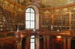 Austrian National Library, Vienna, Austria via bibliojunkie