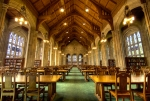 Bapst Library, Boston College, Boston photographed by richietown (flickr) via Flavorwire