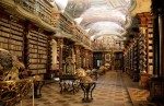 Clementinum National Library, Prague, Photogrpahed by Bruno Delzant via MentalFloss
