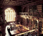 Duke Humfrey's Library at Bodleian Library, Oxford
