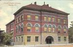 Postcard of Peoria Public Library, 1911