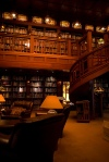 Skywalker Ranch Library, USA Photographed by Michael Heilemann via Mental Floss