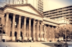 State Library of Victoria, Melbourne, Australia photographed by AdamJWC via Wikipedia