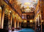 Strahov Monastery Library, Czech Republic, Photogrpahed by Claudia Dias via Mental Floss