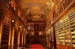 Strahov Monastery Library in Prague, Czech Republic via larbes