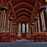 Suzzallo Library Reading Room, University of Washington in Seattle, USA