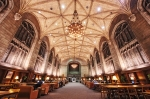 The Harper Library Reading Room, University of Chicago, photographed by Justin Kern, via ferrebeekeeper