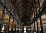 The Long Room, Trinity College Library, Dublin, Ireland via HuffPo