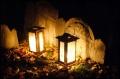 Triple Headstone in Granary Burying Ground, October 31, 2010 by Corey Balazowich