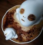 Alien Horror Latte Art by Kazuki Yamamoto via RocketNews24