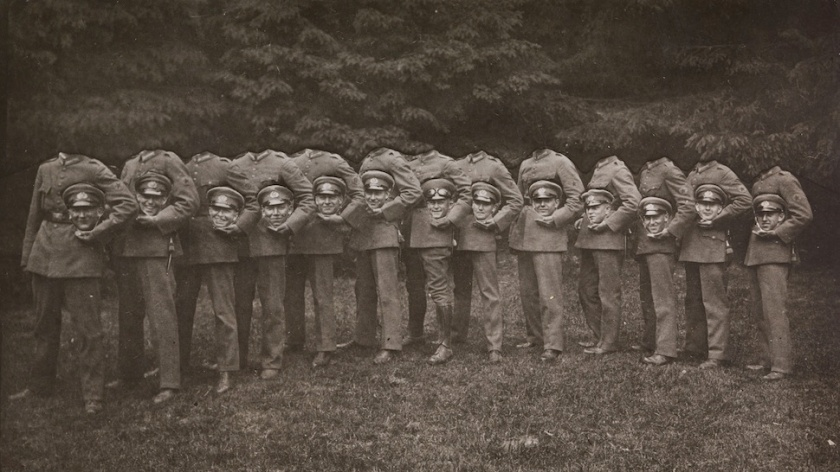 Group of Thirteen Decapitated Soldiers, Unknown, 1910