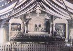 Interior of Clark's Ghost Show, 1890s, via Sheffield University National Fairgrounds Archive
