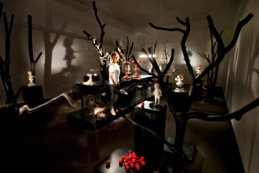 Maria Rubinke Fragile Exhibit at Vejle Museum of Art, 2012