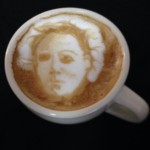 Michael Myers Horror Latte Art by Michael Breach via Riot Daily