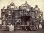 Norman's Ghost Show circa 1900, facade by Orton and Spooner