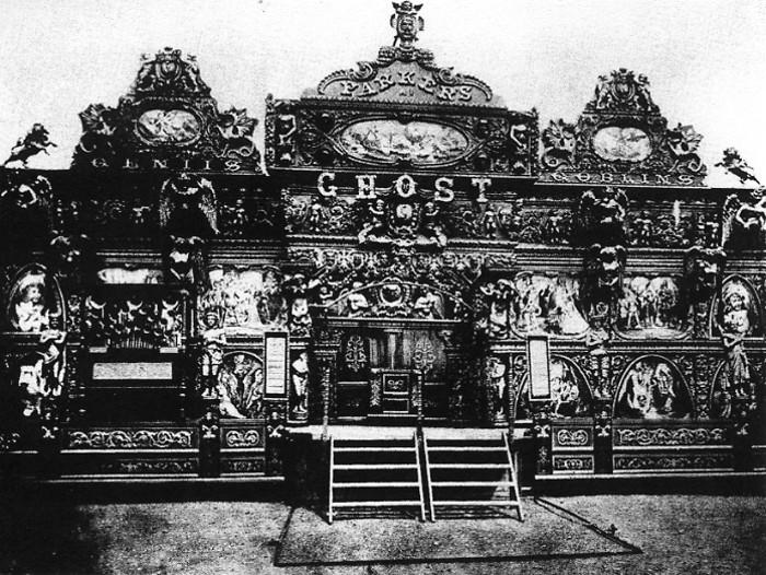 Parker's Ghost Illusion Show Circa 1904 via John Anton