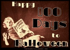 Happy 100 Days of Halloween from TYoH