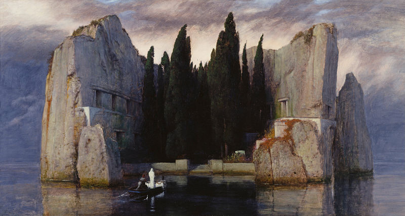 Island of the Dead by Arnold Böcklin, 1880, Oil on Wood