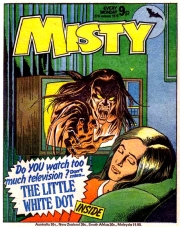 Misty British Girls Comic Gothic Horror