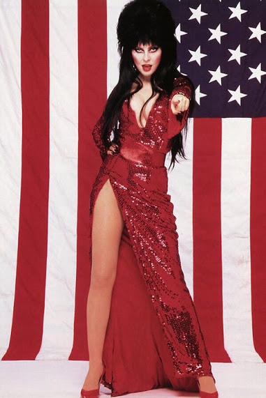 Patriotic Elvira 4th of July