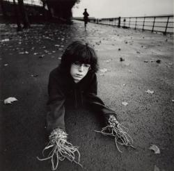 Photo by Arthur Tress, Boy with Root Hands, New York, 1971, via Gothamist