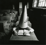Photo by Arthur Tress, Girl With Dunce Cap, NY, 1972