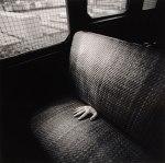 Photo by Arthur Tress, Hand on Train, Staten Island, 1971
