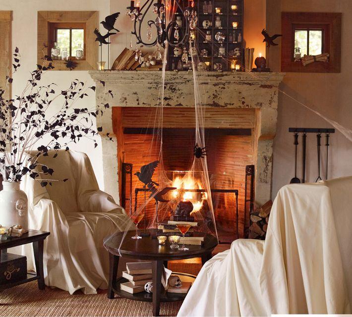pottery barn halloween 2014 haunted salon inspiration the year of rh theyearofhalloween com
