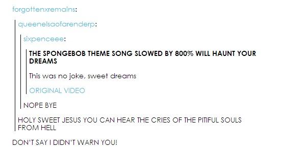 Sixpenceee Sponge Bob Theme Song