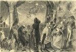 Skeleton Reaper In a Magic Lantern Show via Magic Lantern Shows and Atlas Obscura