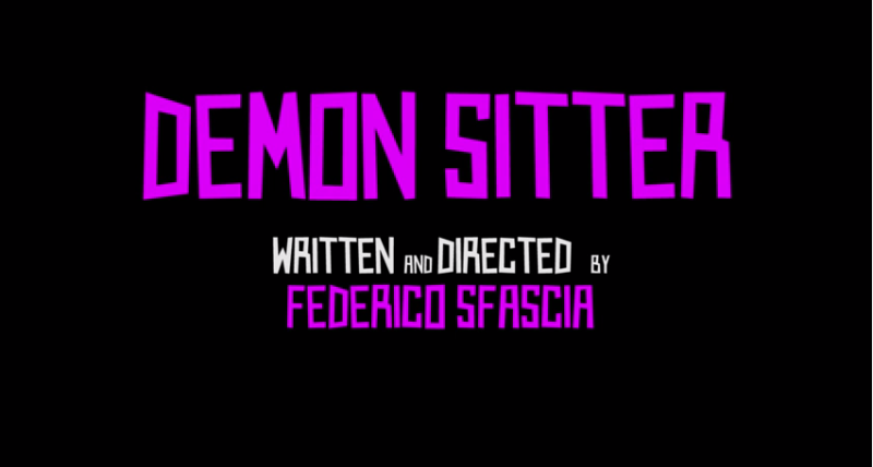 Demon Sitter Short Film by Federico Sfascia