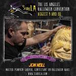 Pumpkin Artist Jon Neill at Scare LA 2014