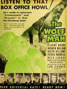 The Wolf Man from Film Daily 10-12-41 via SD Reader