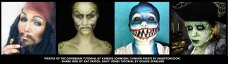 Deep Sea Pirate Monster Halloween Makeup Tutorials