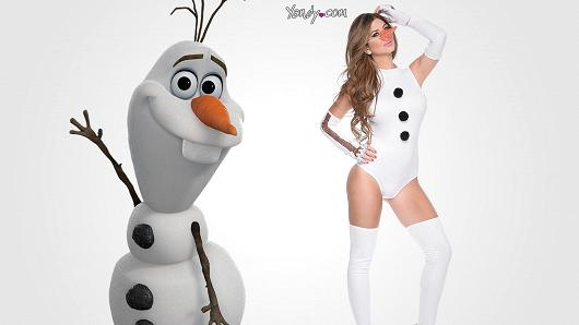 Olaf the Sexy Frozen Snowman