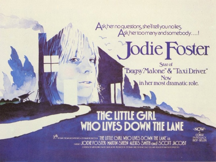 Theatrical Poster for The Little Girl Who Lives Down the Lane