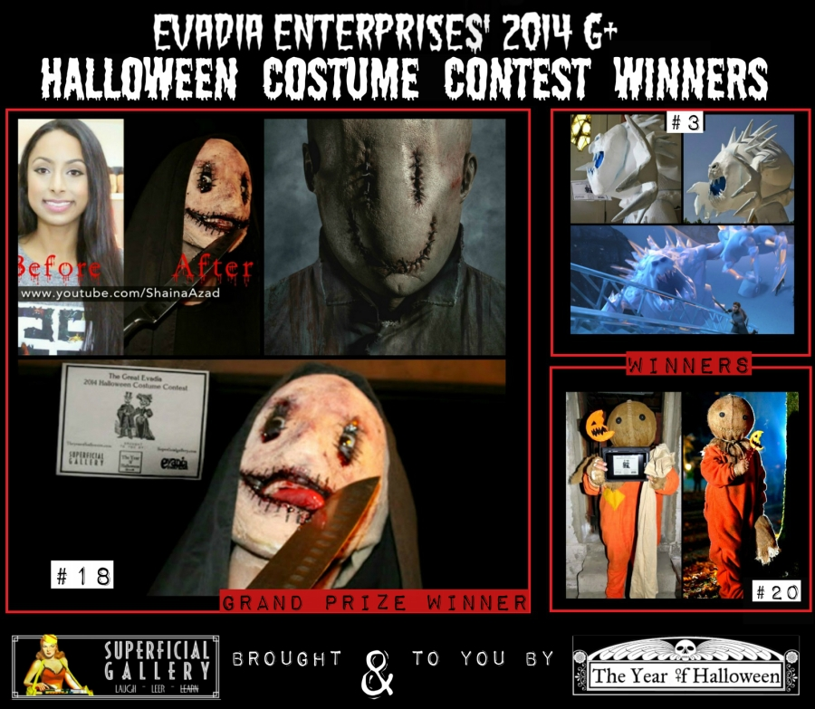 Halloween Costume Contest 2014 Winners