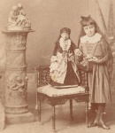 Cabinet Card of Lucia Zarate