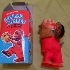 Clockwork Musical Monkey