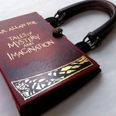 Handmade Edgar Allen Poe Book Purse by Novel Creations
