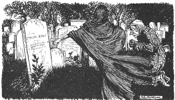 Silent Sundays: The Ghost of Christmas Yet to Come (1915) | The Year of  Halloween