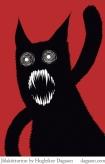 Jólakötturinn the Yule Cat by Hugleikur Dagsson