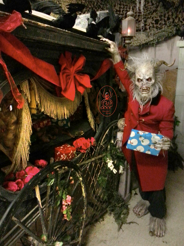 Published December 18 2014 at 606 × 811 in ... & Krampus at the 13th door Pezcame.Com